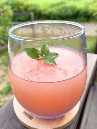 果汁100%無添加「ピンクグレープフルーツゼリー」でビューティーに♪